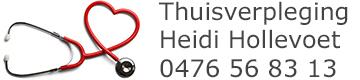 Thuisverpleging Heidi Hollevoet – 0476 56 83 13 – Ichtegem Logo